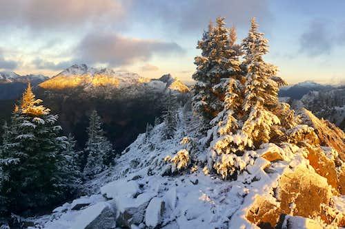 Kendall Peak Sunrise
