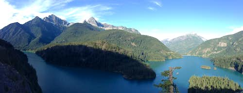 Diablo Lake Overlook Pano