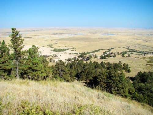 Roundtop Peak Summit View