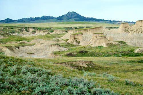 Roundtop Peak Badlands