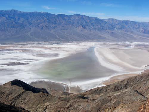 Lake Manly Reemerged at Badwater Basin