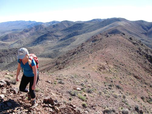 On the Climber's Trail to Mount Perry