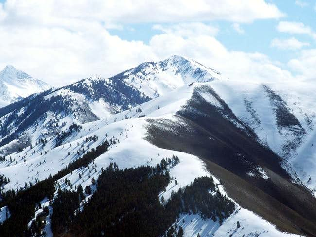 Johnstone Peak when viewed...