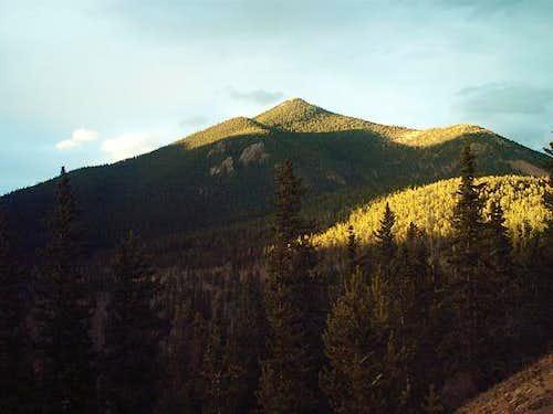 Mount Rosa at sunset....