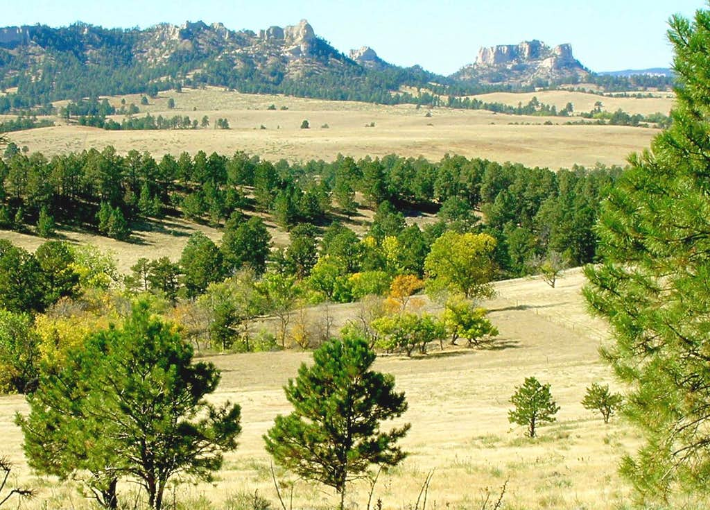 Barrel Butte View of Summits West