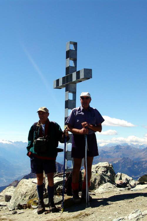Corno Bussola Emilius & Osw on the Summit 2006