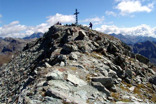 Corno Bussola near the Summit from Bussola Pass 2006