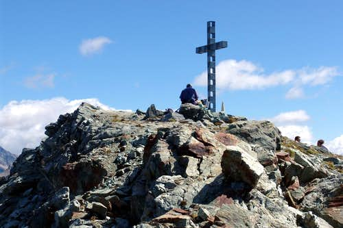 Corno Bussola sitting at the foot of Summit Cross 2006