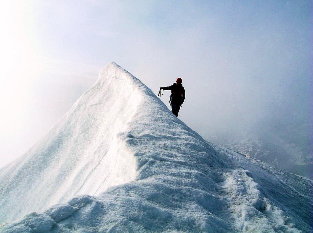 Galenstock snowy summit