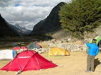 Llamacorral camp
