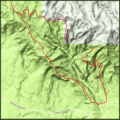 Mexican Canyon Trails