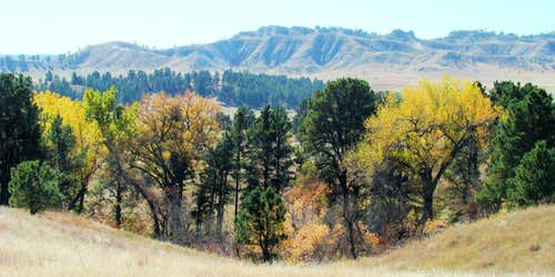 Cheyenne Buttes View
