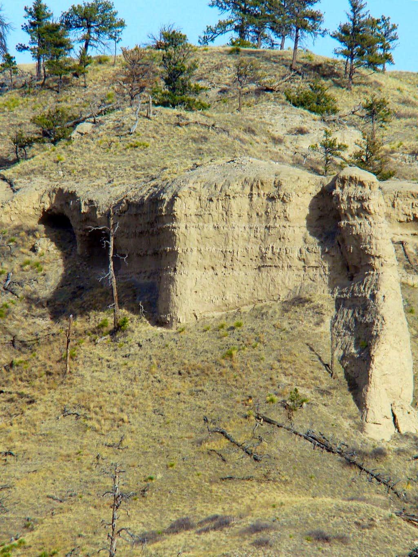 Mexican Canyon Cave Entrances