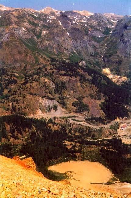 July 1, 2002 Peak 13510 ft...