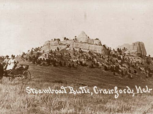Steamboat Butte Long Ago