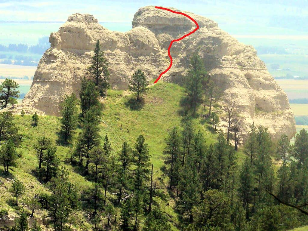 Saddle Rock Summit Route