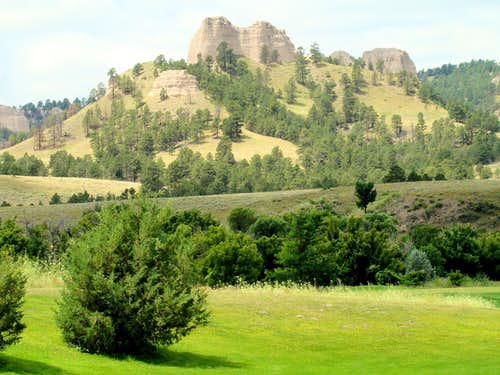 Saddle Rock South Face