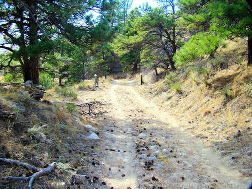 Wagon Wheel Trail View
