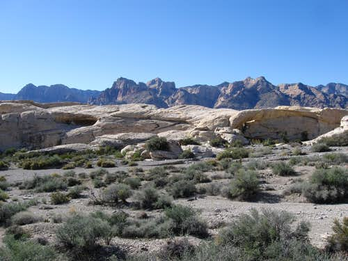 Sandstone Peaks in Red Rock Canyon National Conservation Area