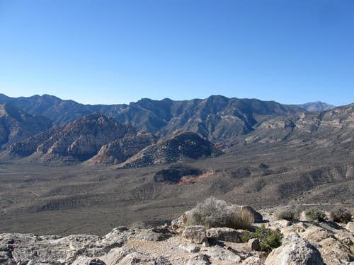 Red Rock Peaks