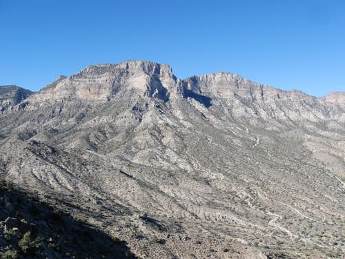 South Face of La Madre Mountain