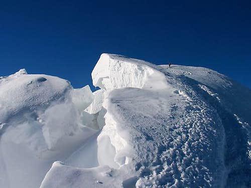 Cevedale ridge