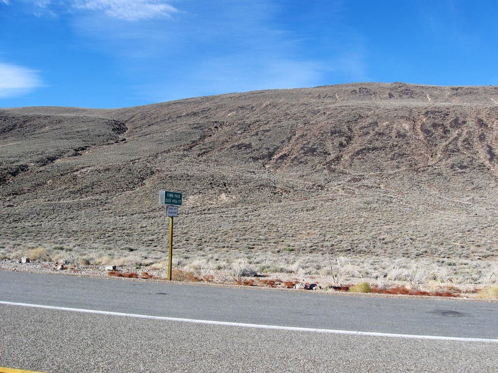 Towne Pass, the Start of the Hike