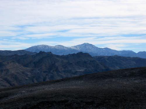 Snow on Telescope Peak