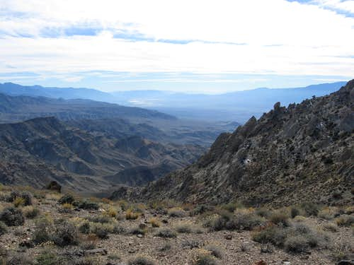 Awesome Canyon Leading Towards Panamint Valley