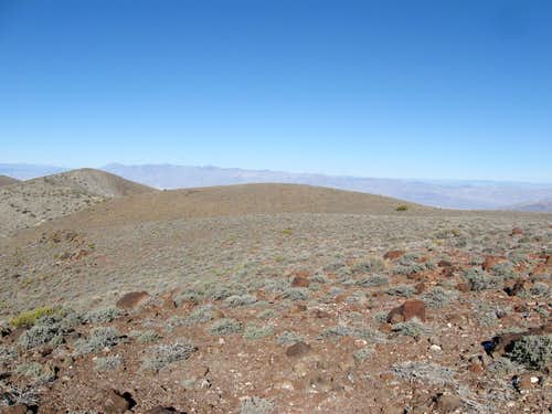 North Along the Summit Ridge