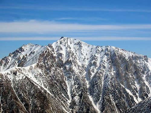 Montgomery Peak from the...