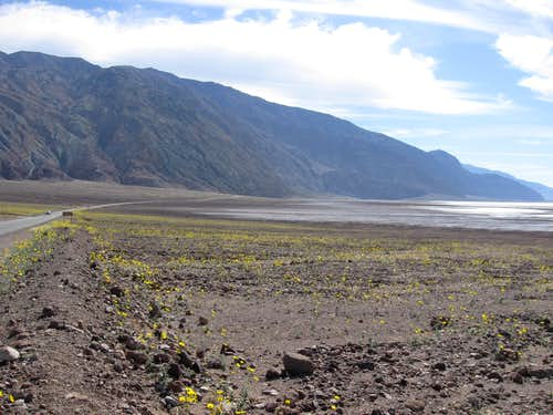 Approaching Badwater