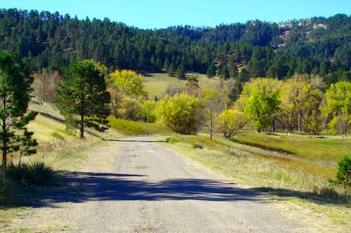 Gilbert-Baker Campground Road