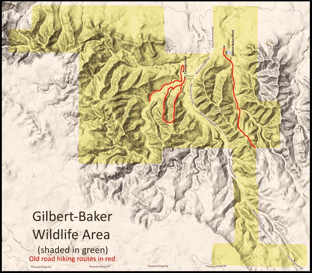 Gilbert-Baker WMA Map