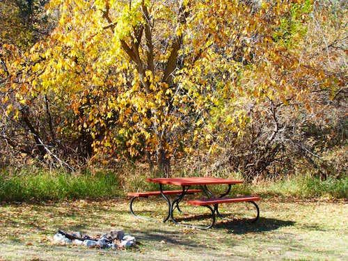 Gilbert-Baker Campground Site