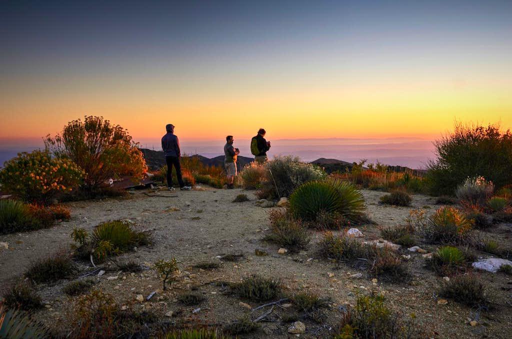 Sunset Peak, San Gabriel Mtns.
