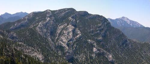 McFarland Peak as seen from...