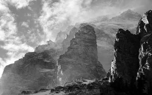Middle Teton Attempt