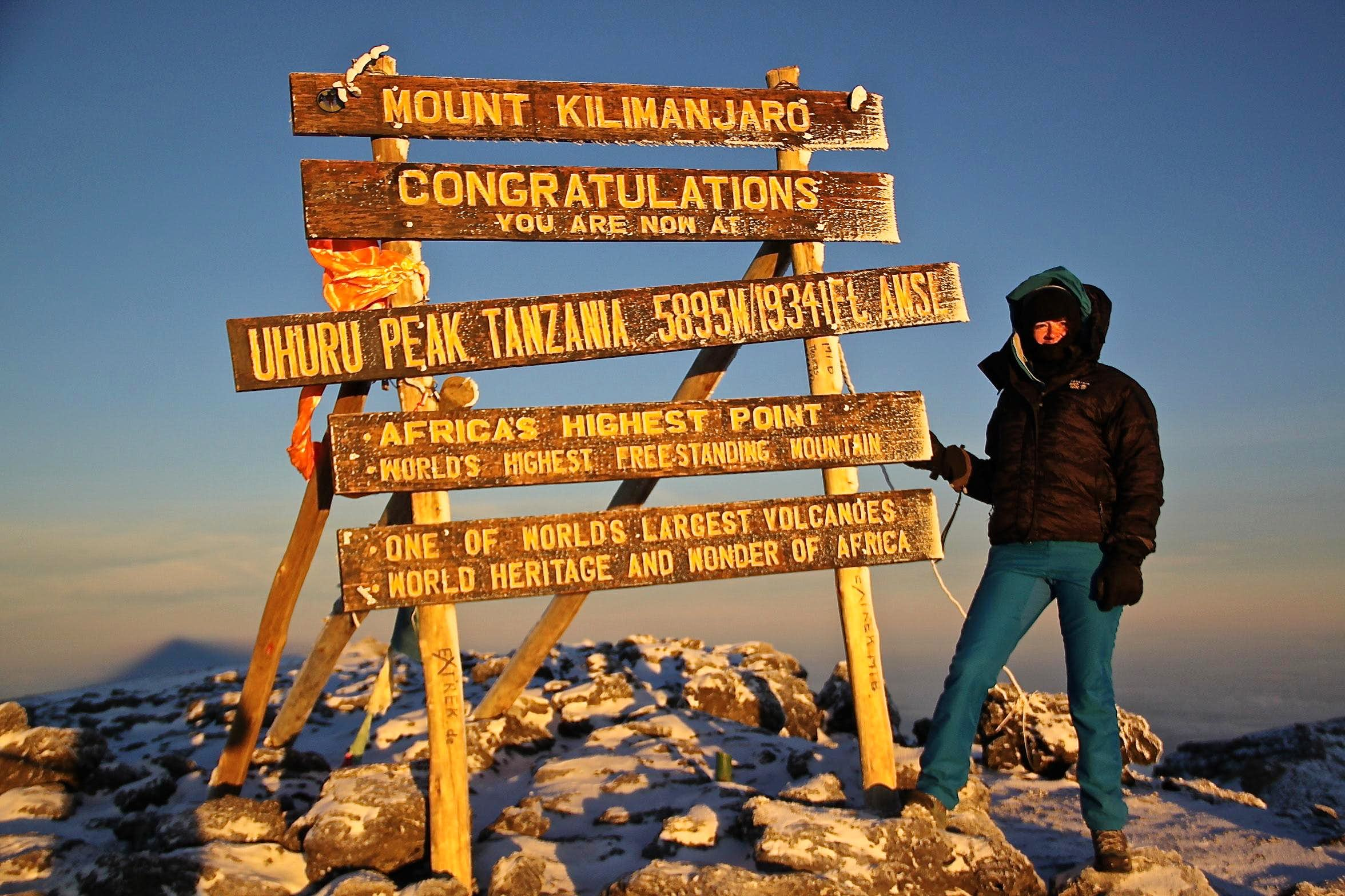 Pole, Pole up to the top of Africa