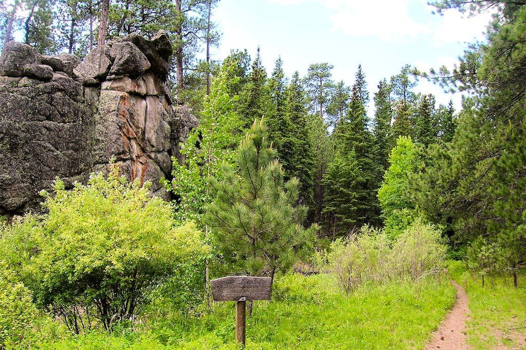 Center of Black Elk Wilderness