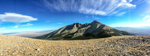 Wheeler Peak From Bald Mountain
