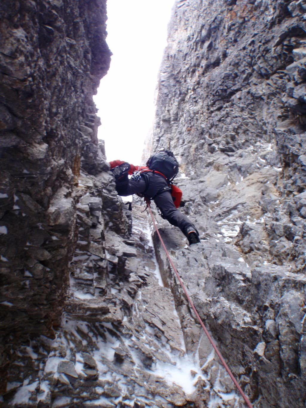 The real climbing starts