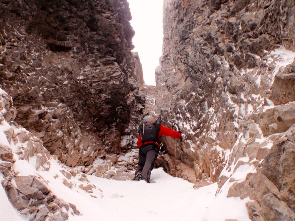 Lower gully