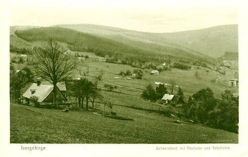 View of Bad Schwarzbach ...