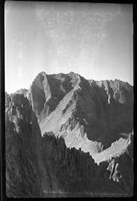 Glen Dawson 1931 Mt Whitney E Face First Ascent