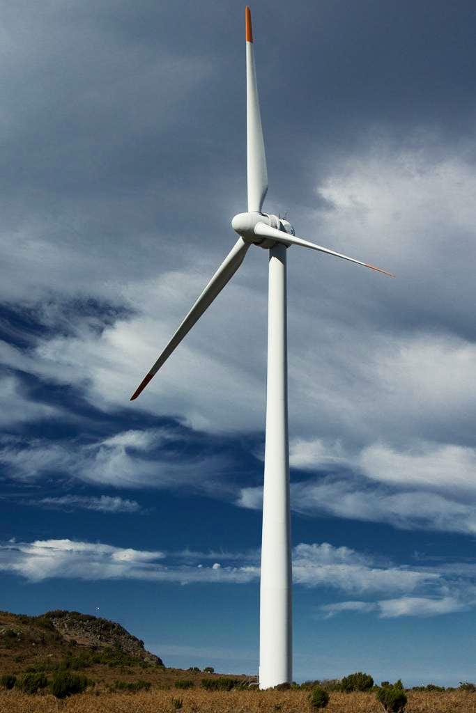 One of the omnipresent windmills of Paul da Serra