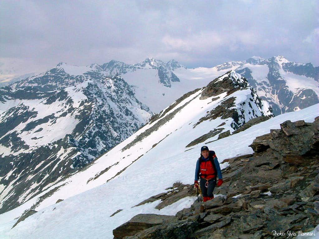 Punta di Lasa summit ridge