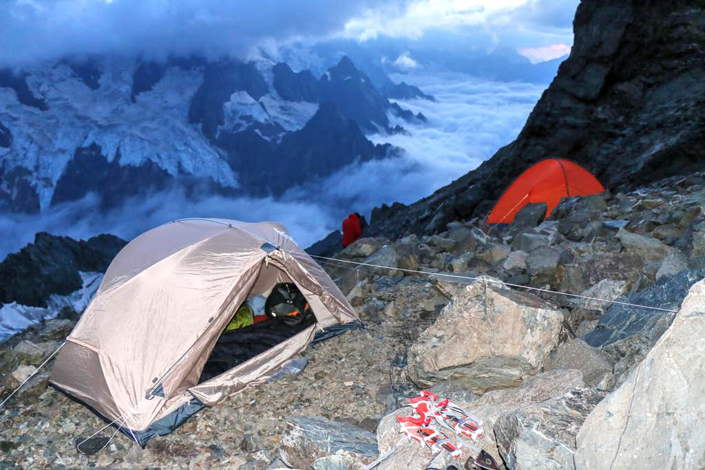 Night on high camp