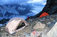 Night on high camp