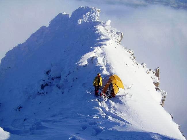 Mt Hood--Cathedral Ridge high...